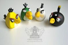 Angry Bird Cake Toppers - theGRID