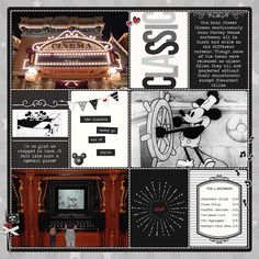 Mickey Classics Main Street Cinema | A Disney Project Mouse Story - A Photo Book from Kathleen Summers - Sahlin Studio Project Mouse