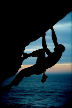 Climbing: inspiration shadow. This would be fun to draw......