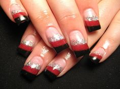 This could work so many different ways! - Black, Red and Silver