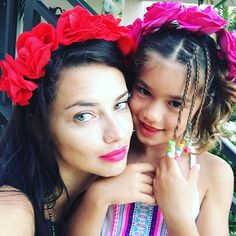 Pin for Later: 9 Lip Colors You Need This Summer as Modeled by Adriana Lima Fuchsia