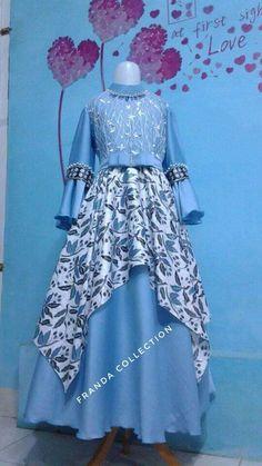 Dress Brokat, Dress Anak, Stylish Dresses, Women's Fashion Dresses, Western Wear Dresses, Batik Fashion, Indian Gowns Dresses, Stylish Dress Designs, Kurti Designs Party Wear