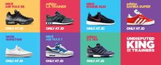 JD Sports adidas trainers & Nike trainers for Men, Women and Kids. Plus sports fashion, clothing and accessories Sports Shops, Jd Sports, Sports Trainers, Roshe Run, Student Discounts, Air Max 95, Samba, Sport Fashion, Vans