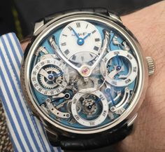 The Best Watchporn From Baselworld 2016 Day 1: MB&F LM Perpetual