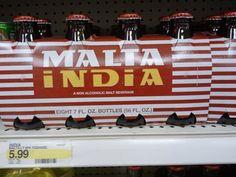 Malta India - Puerto Rico - a non-alcoholic soft drink made from barley