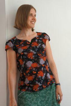 Stoffige Blog - Alma bloesje