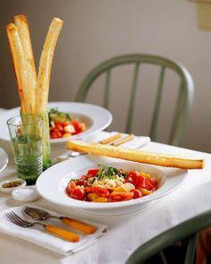 Tomatoes with Orecchiette Recipe