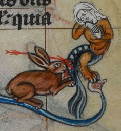 Detail from medieval manuscript, British Library Stowe MS 17 'The Maastricht Hours', f248r