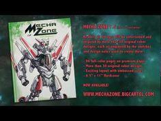 Mecha Zone art book video