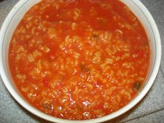 What's cookin', Mom?: Tomato Soup (Supa de Rosii)