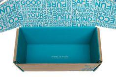 Nice little touch on the bottom of the box.  Brand Spotlight: The HonestCompany -