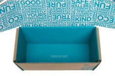 Nice little touch on the bottom of the box.  Brand Spotlight: The Honest Company -