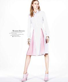 cool Harper's Bazaar US Abril 2014 | Julia Nobis por Daniel Jackson  [Editorial]