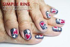 Simply Rins: Nail Art Tutorial: Heart Patches