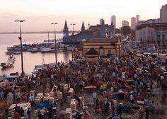 Mercado Ver-o-Peso - open-air market along the Amazon River -  Belém, Brazil.
