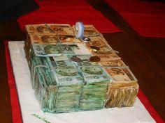 MONEY CAKE.. eu quero !!!!