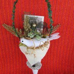 Christmas Decoration Tussie Mussie Victorian by porchandpillar