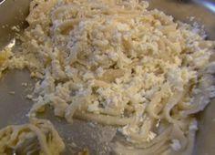 Fosztott tészta   Gasztroangyal Pasta, Grains, Rice, Food, Essen, Meals, Seeds, Yemek, Laughter