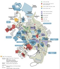 disneys hollywood studios general map