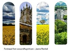 English Countryside Photography Bookmarks on Craftsuprint - View Now!
