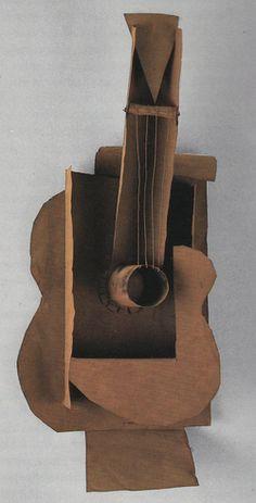 Picasso: Guitar 1912