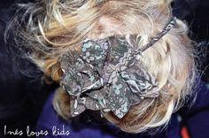 Diadema Narciso de Inesloveskids.com Hair Styles, Beauty, Head Bands, Hair Plait Styles, Hair Makeup, Hairdos, Haircut Styles, Hair Cuts, Hairstyles