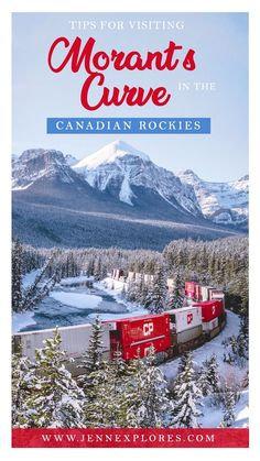 Morant's Curve - Tips for Visiting and Photographing this Famous Canadian Rockies Viewpoint – jenn explores - travel, landscape and lifestyle photographer Canadian Pacific Railway, Canadian Rockies, Canadian Food, Vancouver, Toronto, Alberta Canada, Quebec, Banff National Park, National Parks