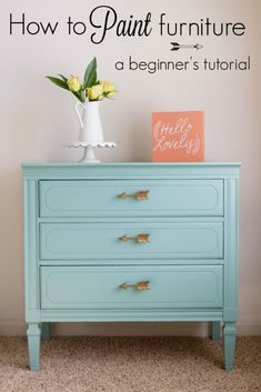 *Disclaimer: This post is not sponsored by General Finishes and I did not receive anything in exchange for this post. I just love the product and wanted to share about it! This post does contain affiliate links which means I may receive a referral commission, but your price stays the same. Thank you in advance ... Read More about How to paint furniture: a beginner's tutorial