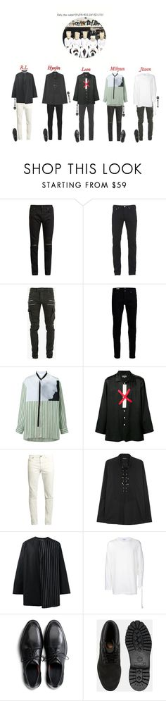 """""""Performing At May Korean Music Awards 2017: D:FI"""" by official-dfi ❤ liked on Polyvore featuring Yves Saint Laurent, Paul Smith, Balmain, Raf Simons, Yohji Yamamoto, Cole Haan, Timberland, men's fashion and menswear"""