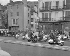mod scooters by the sea - Google Search
