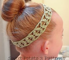 free flower headband pattern