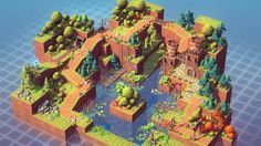 Isometric Pack 3d - Asset Store