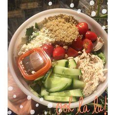 Chicken Feta Quinoa Salad - 21 Day Fix Recipes