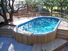Doughboy pool parts can help with much more than just fun games in the sun. It can make your entire family healthier and happier. Backyard Pool Landscaping, Backyard Pool Designs, Backyard Sheds, Oval Above Ground Pools, In Ground Pools, Doughboy Pool, Pools For Small Yards, Kidney Shaped Pool, Pool Deck Plans