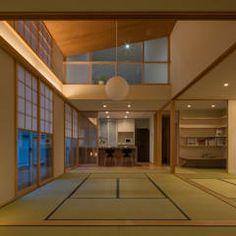 水石浩太建築設計室/ MIZUISHI Architect Atelier의 거실