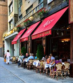 A touch of Paris in Midtown New York.
