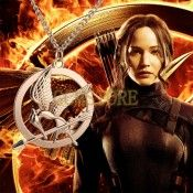 The Hunger Games III Mockingjay Movie Jewelry Vintage Necklaces & Pendants For Womens Mens