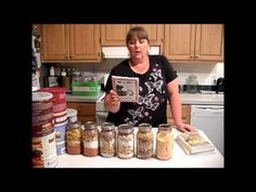Meals in a Jar and she lists the recipes she used in the description.  Good recipes to start with.