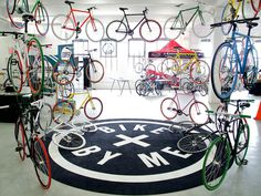 How to complicate a show case - launch of Bike by Me NY by Bike by Me , via Behance