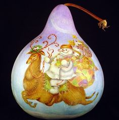 Image result for deborah kerr painted gourd patterns