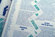 Article11 - Formes Vives, l'atelier Booklet Design Layout, Print Layout, Layout Design, Design Design, Typography Layout, Typography Letters, Typography Poster, Lettering, Posters Conception Graphique