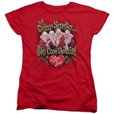 Lucy - Dear Santa Women's T-Shirt