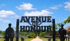 Honouring The Fallen - The Avenue of Honour is situated at Yungaburra on the Atherton Tablelands approximately 1 hour west of Cairns.