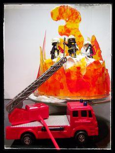 gteau au feu les pompiers