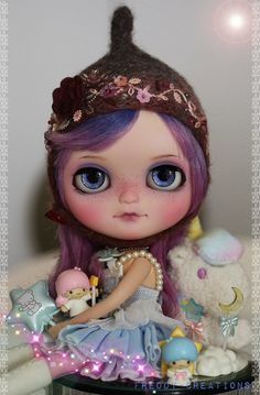 My FIRST Custom Icy Doll ...