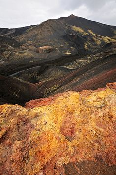 Black mountain - Etna - Sicily by pbOOg, via Flickr