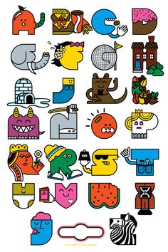 Interview with Mike Davis, awesome Minessota Designer - and the alphabet print of course.