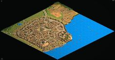 Are you a Game of Thrones fan? Check out King's Landing recreated in the Age of Empires II map editor!  For the full-sized picture, see Redditor Kcider's post: http://www.reddit.com/r/gameofthrones/comments/2czmxw/no_spoilers_kings_landing_recreated_in_age_of/