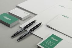 Hughes Estate Sales Identity - Stationery Set