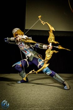 Amazing Sheik cosplay